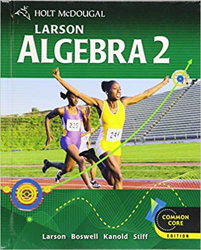 Picture of Algebra 2 Textbook