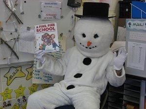 Mystery Snowman