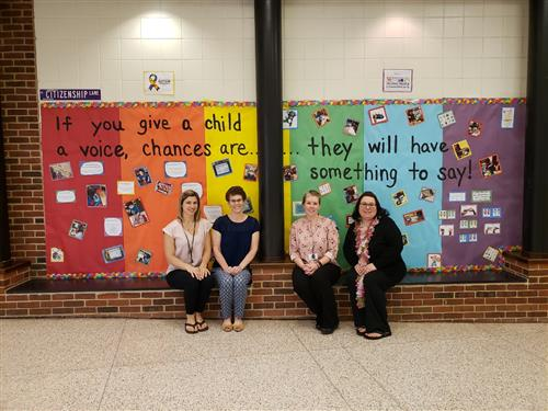 Speech Therapy Bulletin Board