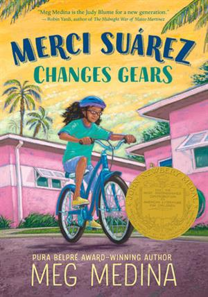 Book Cover:  Merci Suarez Changes Gears