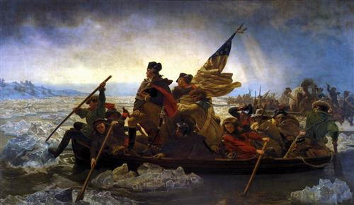 Washington Crossing the Delaware, to the Battle of Trenton 1776