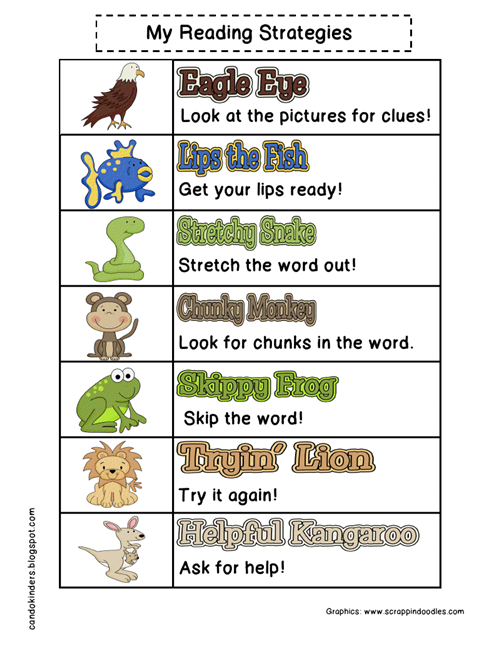 Fox, Lindsay / Decoding strategies for reading